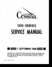 Cessna 100 Series Service Manual - Cessna 170 Guide